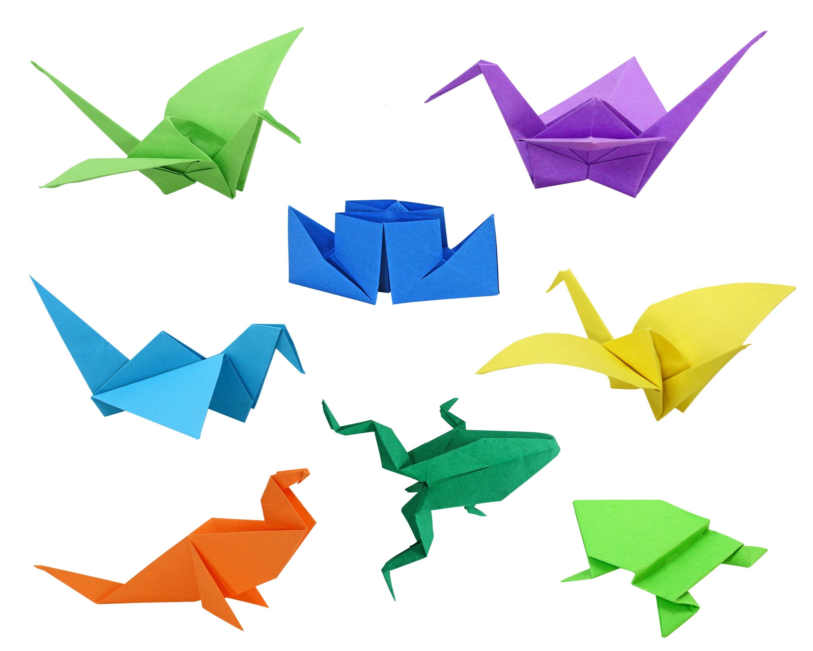 Boules de Noël en origami |