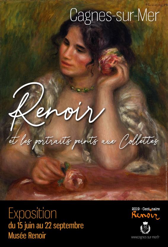 EXPOSITION RENOIR: Renoir et les portraits peints aux Collettes |